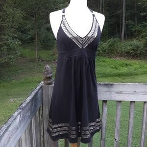 Victoria's Secret Bra Top Black Dress M